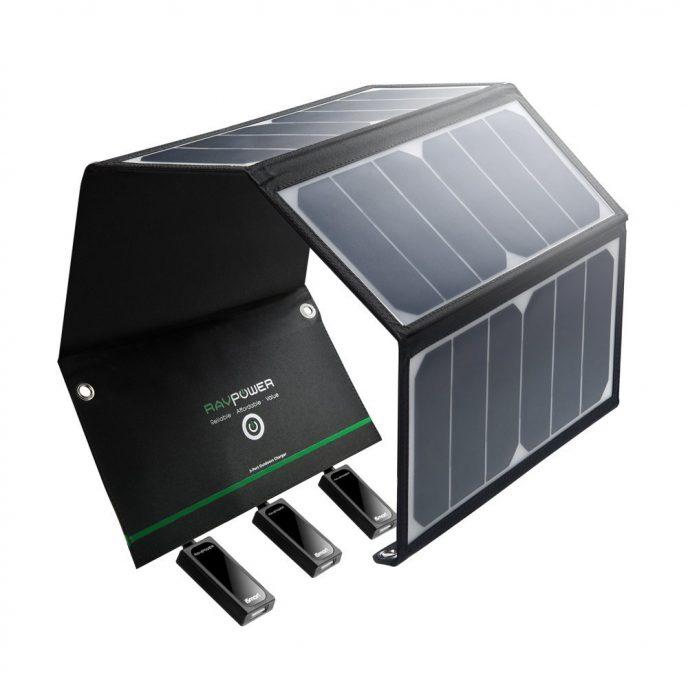 cargador panel solar bueno