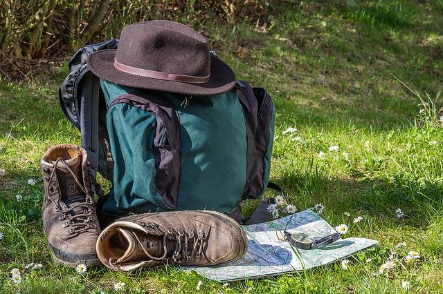 mochila con cargador