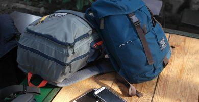 mochilas cargador celular