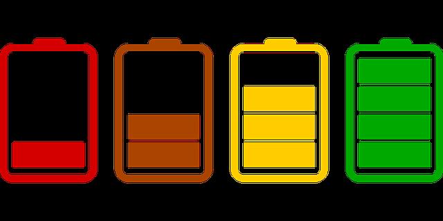 baterías de movil